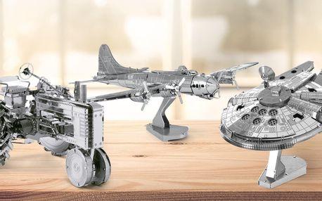 Kovové 3D puzzle: lodě, letadla i vzducholoď