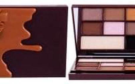 Makeup Revolution London I Heart Revolution Chocolate 22 g paletka očních stínů v designu čokolády pro ženy Caramel