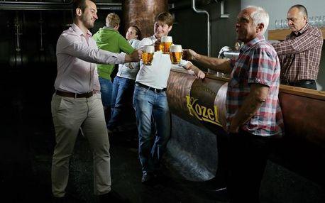 Kozlova škola čepování + prohlídka pivovaru