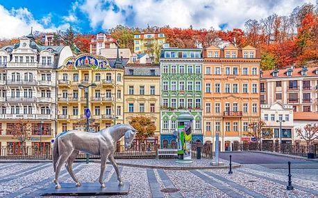 Karlovy Vary: Hotel Marttel *** se vstupenkou do Alžbětiných lázní, slevami, kávou se zákuskem a snídaněmi
