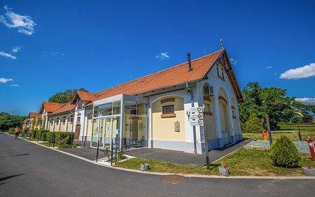 Maďarský Sárvár v romantickém Hotelu Vadkert Major *** s celodenním vstupem do termálních lázní + polopenze