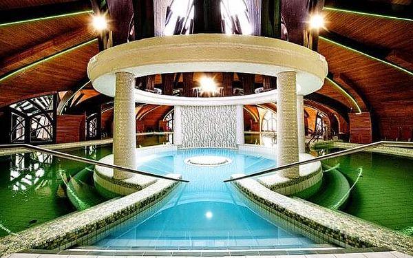 Zalakaros: Hotel Park Inn by Radisson **** přímo propojený s termálními lázněmi + all inclusive a děti zdarma