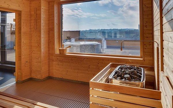 Brno, hotel Avanti**** se střešním wellness