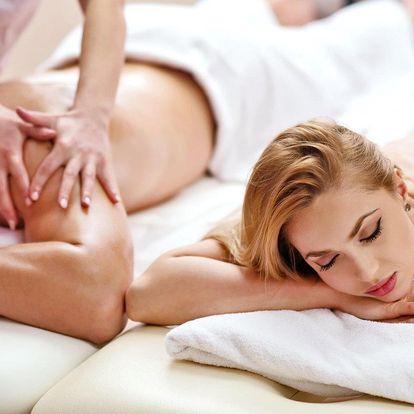 Uvolnění ve dvou: párová masáž, výběr z 8 druhů