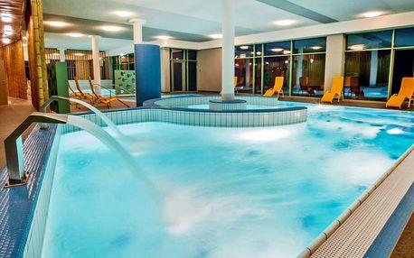 Pobyt v termálním resortu s velkým wellness centrem