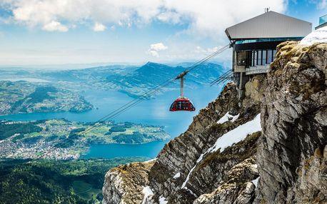 Švýcarsko letecky na 4 dny, polopenze