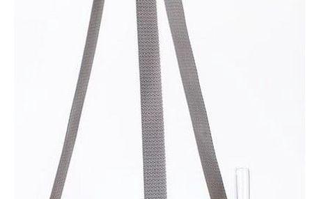 Plastia Samozavlažovací závěsný květináč Berberis šedá + slonová kost, pr. 30 cm