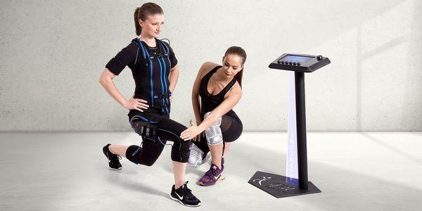 EMS lekce fitness s osobním trenérem