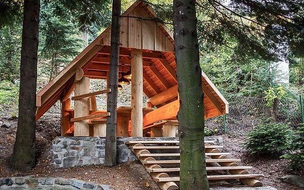 5denní pobyt v chatě Vlčí doupě v Beskydech pro až 8 osob2