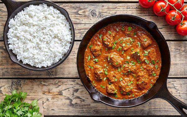 Indické menu pro 2 osoby2