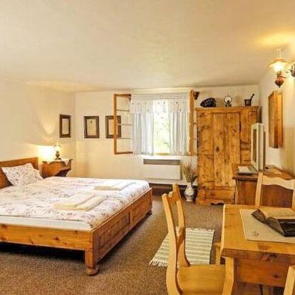Beskydy: Luxusní odpočinek nedaleko lyžařských středisek v Areálu Na Mlýně s polopenzí a privátním wellness