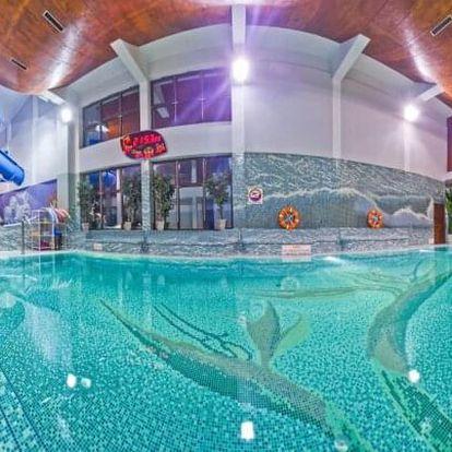 Polsko v lázeňském městě v Penzionu Klimek **** s polopenzí a neomezeným vstupem do aquaparku vzdáleného 80 m