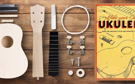 Postavte si své ukulele: originální stavebnice