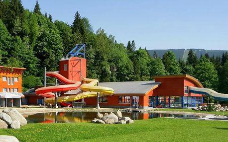 Víkend v Aquaparku Špindlerův Mlýn