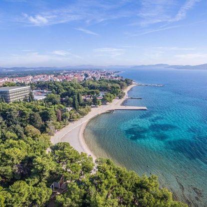 Chorvatsko, Vodice: Hotel Flora and Madera