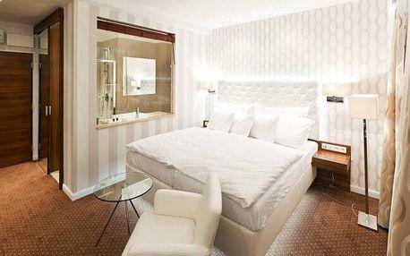 Liberec: Pytloun City Boutique Hotel **** s thajskou masáží, privátním wellness, vínem, tapas a polopenzí