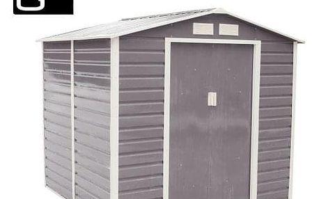 G21 GAH 407 Zahradní domek - 213 x 191 cm, šedý