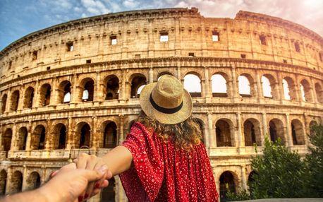 Itálie - Řím letecky na 6 dnů, snídaně v ceně