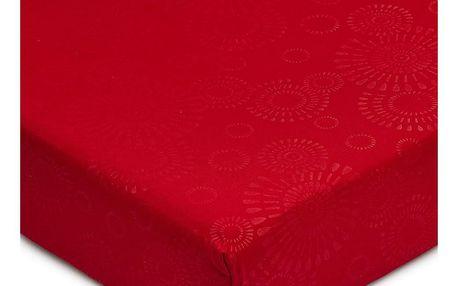 BO-MA Trading Prostěradlo Elisa mikrovlákno červená