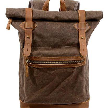Vintage vodotěsný plátěný batoh