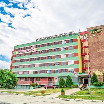 Jižní Morava: Hodonín v Hotelu Panon *** s chutnou polopenzí, vstupem do bazénu + další výhody