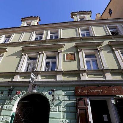 Praha na 3-4 dny, snídaně v ceně