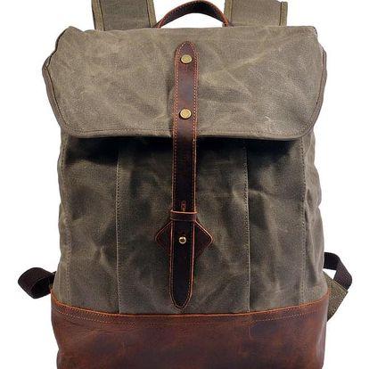 Velký plátěný vodotěsný batoh