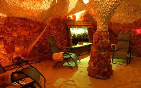 Solná jeskyně: vstup pro 1 i 2 osoby či permanentka