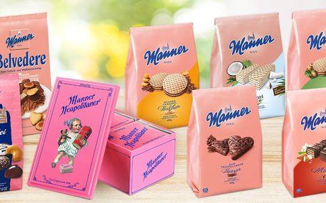 Sušenky a oplatky Manner: 14 sladkých variant