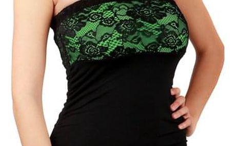 Společenské šaty s krajkou - party šaty