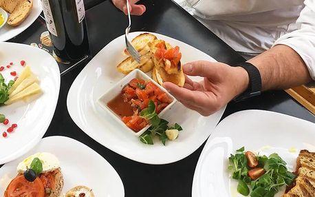 Degustační menu v Café Jamón