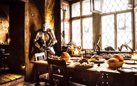 Středověká večeře pro novomanžele