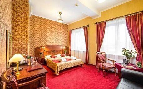 Pobyt u solného dolu Wieliczka a blízko Krakova v Hotelu Galicja *** s polopenzí, saunou a kulečníkem