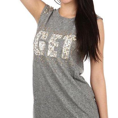 Dámské dlouhé tričko s nápisem