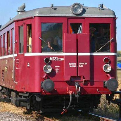 Komentovaná prohlídka železničního muzea pro 2–4 os.