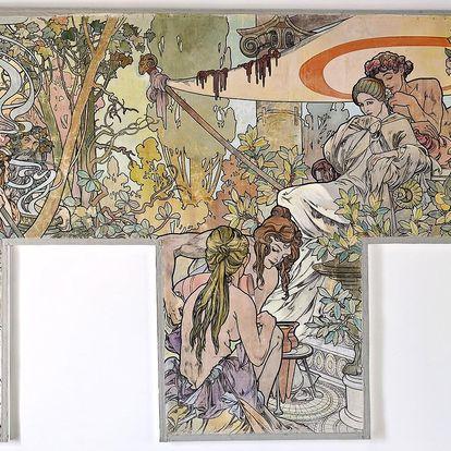 Museum Kampa i výstava Alfons Mucha a Pasta Oner