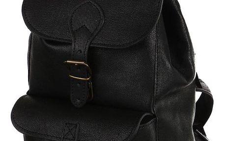 Kožený malý batoh - Česká výroba