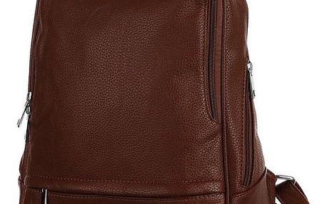 Elegantní dámský koženkový batoh do města