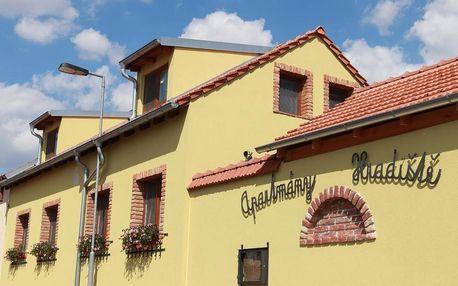 Znojmo, Jihomoravský kraj: Apartmány Hradiště
