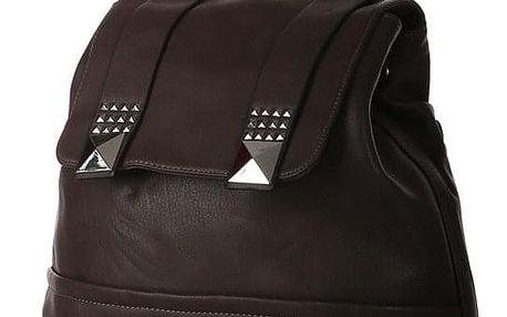Prostorný elegantní městský batoh s nýty