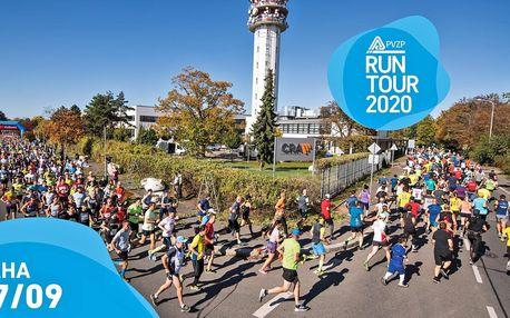 RunTour 2020: startovné na běh v Praze