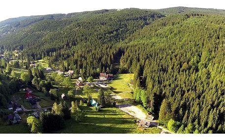 Jizerské hory v hotelu Maxov s polopenzí a finskou saunou