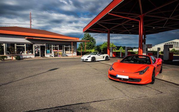 Auto podle výběru: Ferrari nebo Lamborghini na 15 min./15 km3
