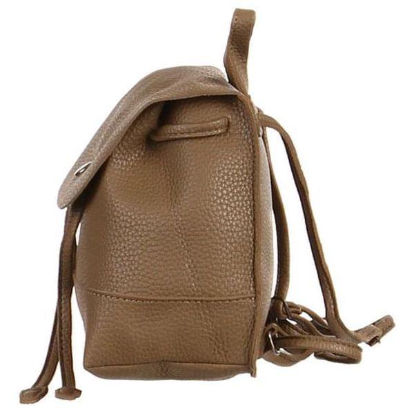 Malý městský koženkový batůžek2