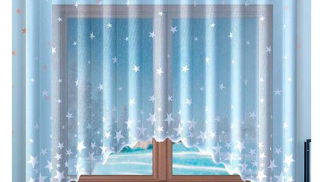 Forbyt Záclona Stars, 300 x 140 cm