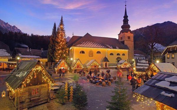 Vánoční pobyt u jezera Bled (hotel Krim), vlastní doprava, polopenze2