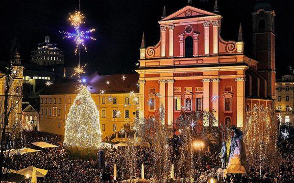 Vánoční pobyt u jezera Bled (hotel Krim), vlastní doprava, polopenze3