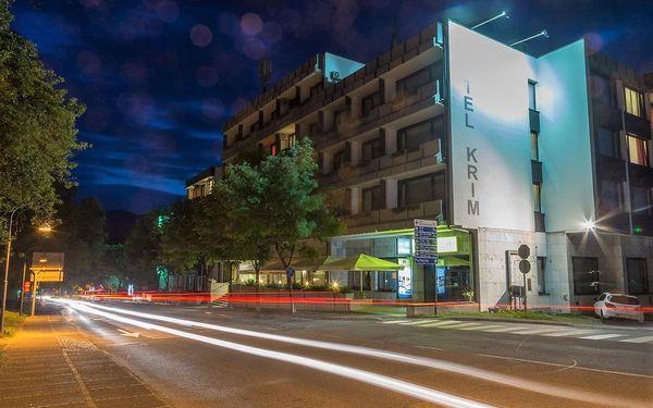 Ubytovani na Bledu se skipasem na 4 noci (hotel Krim***), vlastní doprava, polopenze4