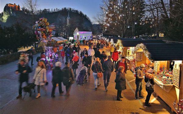 Vánoční pobyt u jezera Bled (hotel Krim)