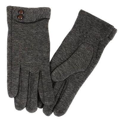 Dámské rukavice s ozdobnými knoflíky